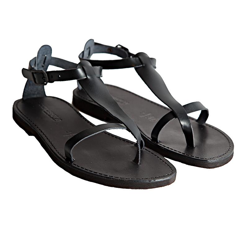 Sandalo schiava Culto nero da uomo