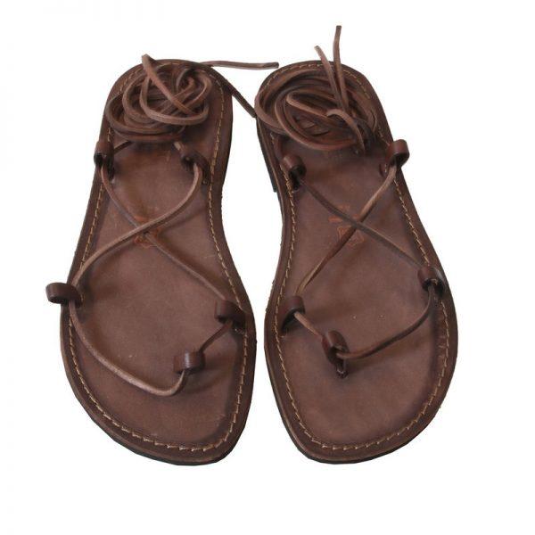 sandali-cuoio-schiava-uomo-stringato-marrone-2