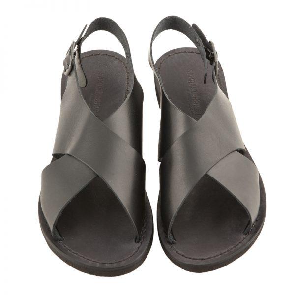 sandali-microporoso-chiuso-donna-Inox-nero-2
