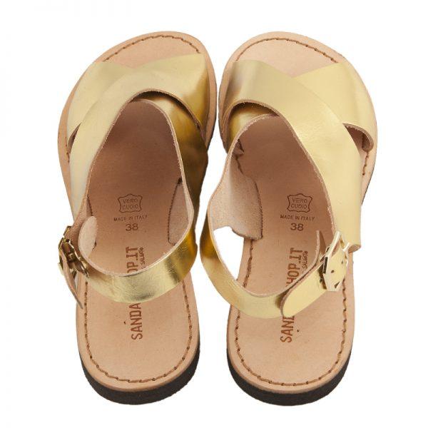 sandali-microporoso-chiuso-donna-Inox-oro-2