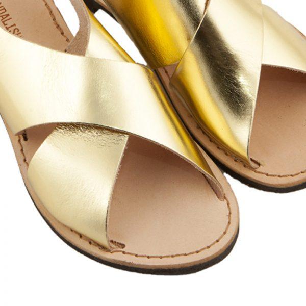sandali-microporoso-chiuso-donna-Inox-oro-3