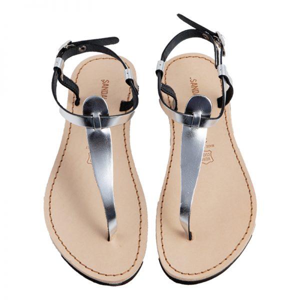 sandali-microporoso-chiuso-donna-Oregon-argento-2