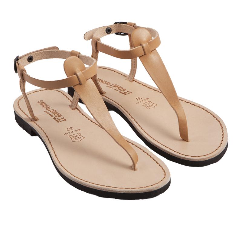 Sandalo chiuso dietro Oregon caramello da donna
