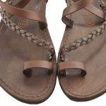 sandali-microporoso-chiuso-donna-Treccia-marrone-3