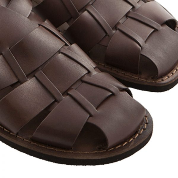 sandali-microporoso-chiuso-uomo-Retro-marrone-3