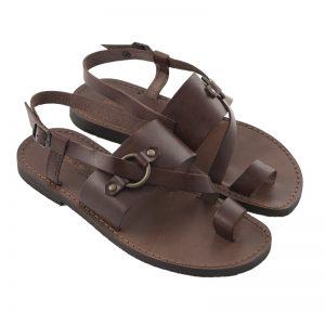 Sandalo chiuso dietro Tango marrone da uomo