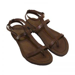 Sandalo gladiatore Gioia marrone da donna