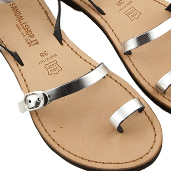 sandali-microporoso-schiava-donna-Calipso-argento-3