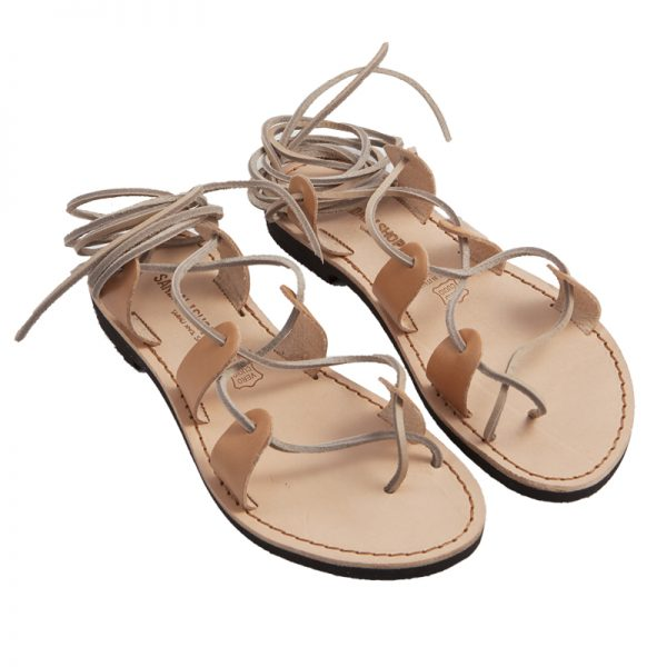 Women's Texas Lace up sandals in Caramel