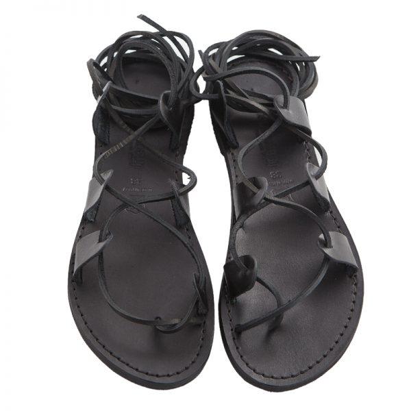 sandali-microporoso-schiava-donna-Texas-nero-3