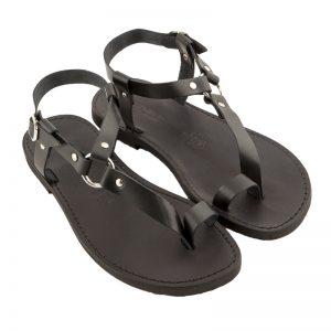 Sandalo schiava Guru nero da uomo
