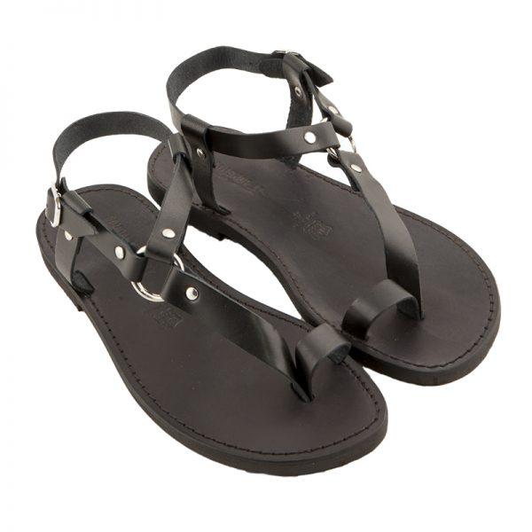 Men's Guru Lace up sandals in Black