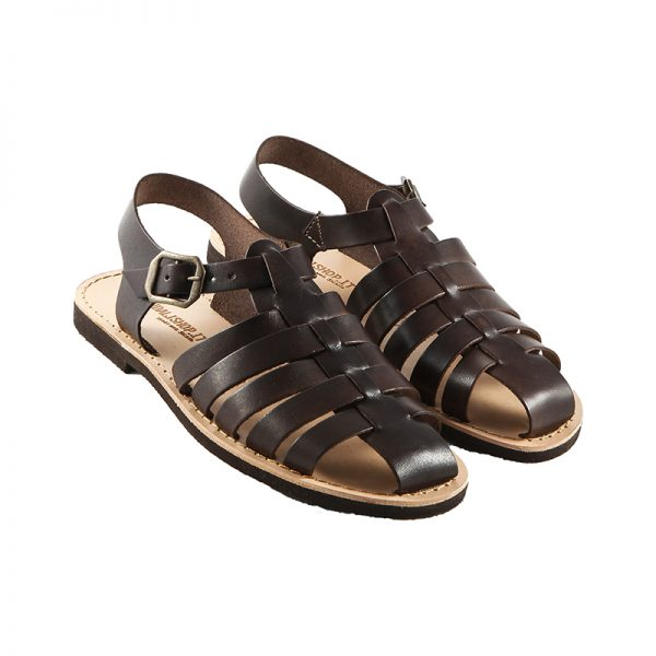 Women's Ragnetto Strappy sandals in Brown