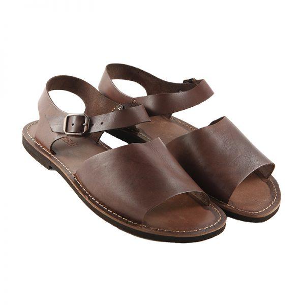 Sandalo chiuso dietro Frate marrone da uomo
