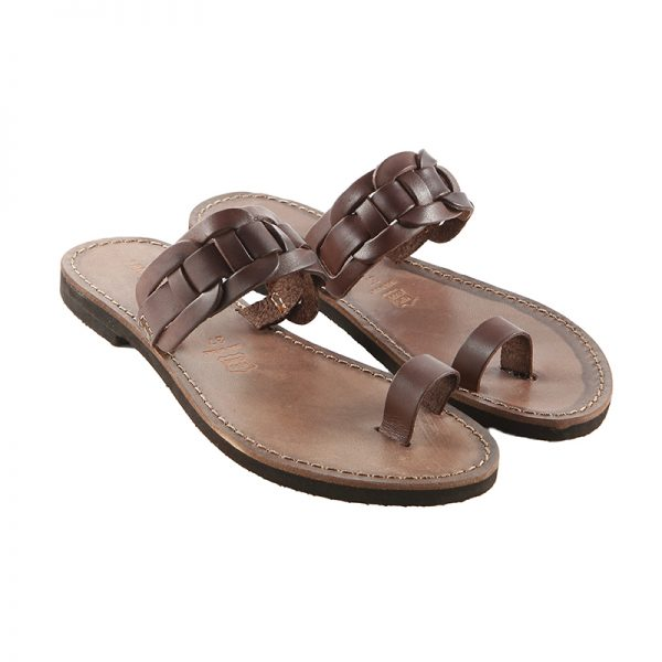 Women's Dna Thong sandals in Brown
