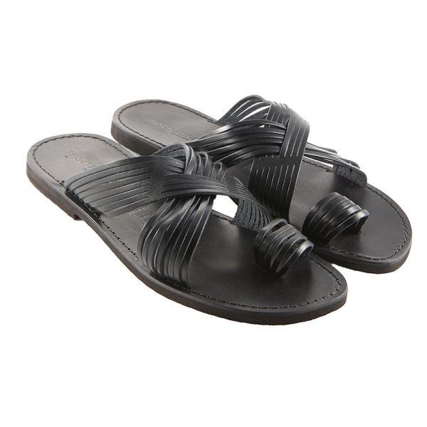 Sandalo infradito Bellissimo nero da uomo