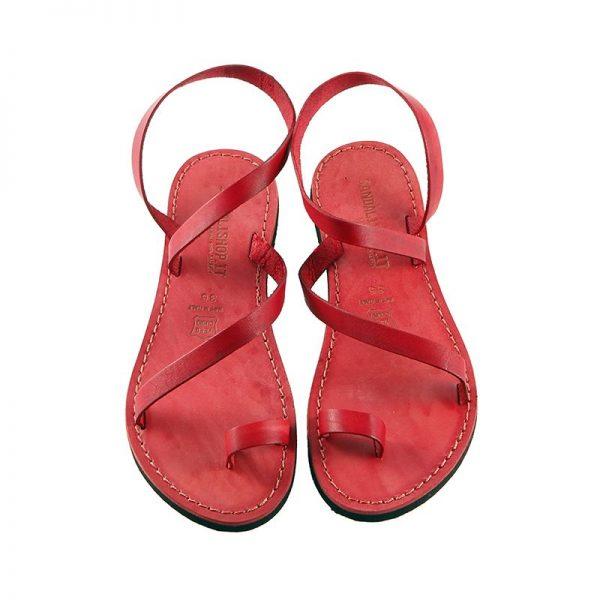 sandalo-microporoso-schiava-donna-amore-rosso-2