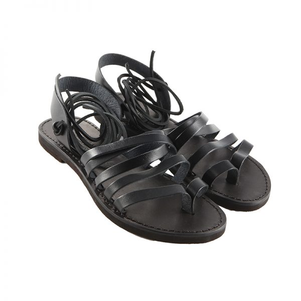 Women's Lacci Lace up sandals in Black